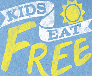 Kids Eat Free Wednesday